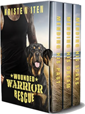 bargain ebooks Wounded Warrior Rescue Clean & Wholesome Romance by Kristen Iten