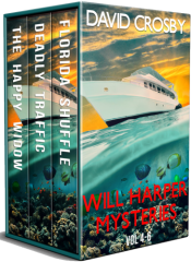 bargain ebooks Will Harper Florida Thrillers: Vol. 4-6 (Will Harper Mysteries) Mystery/Thriller by David Crosby