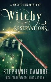 amazon bargain ebooks Witchy Reservations Cozy Mystery by Stephanie Damore