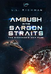 bargain ebooks Ambush in the Sargon Straits Military Sci-Fi Technothriller by L.L. Richman