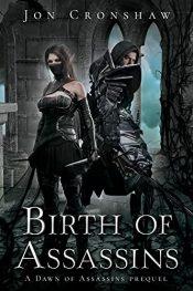 bargain ebooks Birth of Assassins Coming-of-Age High Fantasy by Jon Cronshaw
