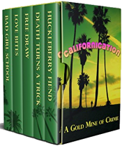 bargain ebooks Californication: A Gold Mine of Crime Mystery by Julie Smith