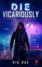 bargain ebooks Die Vicariously Sci-Fi Adventure by Ric Rae
