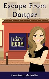 bargain ebooks Escape from Danger Cozy Mystery by Courtney McFarlin