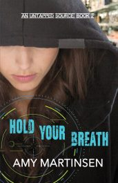 bargain ebooks Hold Your Breath: A Clean Romantic Suspense (An Untapped Source Book 2) Romantic Suspense by Amy Martinsen