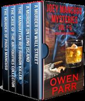 bargain ebooks Joey Mancuso Mysteries Vol 1-5 (Joey Mancuso, Father O'Brian Crime Mystery Series) Mystery by Owen Parr