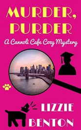 bargain ebooks Murder, Purder: A Cannoli Cafe Cozy Mystery Mystery by Lizzie Benton