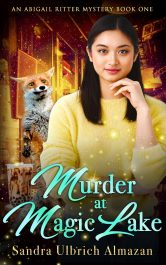 amazon bargain ebooks Murder at Magic Lake Cozy Mystery by Sandra Ulbrich Almazan