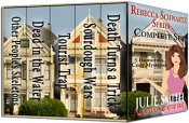 bargain ebooks Rebecca Schwartz Complete Set Five Funny Cozy Mysteries Mystery by Julie Smith