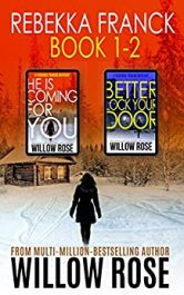 bargain ebooks Rebekka Franck: Book 1-2 Mystery Thriller by Willow Rose
