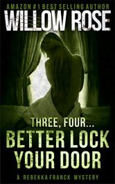 bargain ebooks Three, Four... Better Lock Your Door Mystery by Willow Rose