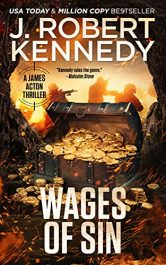 bargain ebooks Wages of Sin Action/Adventure Thriller by J. Robert Kennedy