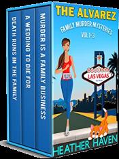 bargain ebooks The Alvarez Family Murder Mysteries: Vol 1-3 Cozy Mystery by Heather Haven