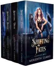 bargain ebooks Crescent City Witch Series: Books 1-4 Paranormal Romance by Meredith Clarke