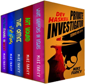 bargain ebooks Dev Haskell Box Set 15-19 (Dev Haskell - Private Investigator Book 3) Mystery by Mike Faricy