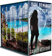 bargain ebooks Kate Benedict Mystery Series Vol. 1-6 (The Kate Benedict Series) Mystery by Carrie Bedford