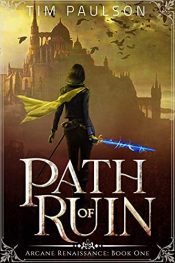 amazon bargain ebooks Path of Ruin Epic Fantasy Adventure by Tim Paulson