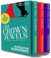 bargain ebooks The Crown Jewels Boxed Romantic Comedy by Melanie Summers