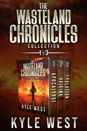 amazon bargain ebooks The Wasteland Chronicles Collection: Books 1-3 Action Adventure by Kyle West
