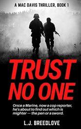 amazon bargain ebooks Trust No One Action Adventure by L.J. Breedlove
