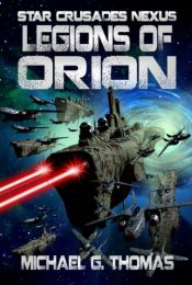 bargain ebooks Legions of Orion Science Fiction by Michael G. Thomas