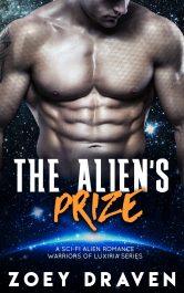 bargain ebooks The Alien's Prize SciFi Romance by Zoey Draven