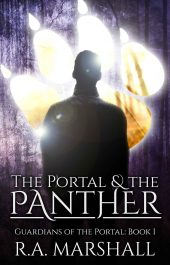 bargain ebooks The Portal and the Panther Young Adult Fantasy by R. A. Marshall