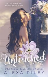 bargain ebooks Untouched Erotic Romance by Alexa Riley