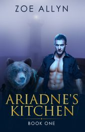 bargain ebooks Ariadne's Kitchen Paranormal Romance by Zoe Allyn