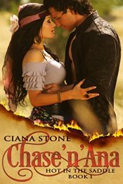 bargain ebooks Chase'n'Ana (Hot in the Saddle Book 1) Western Paranormal Romance by Ciana Stone