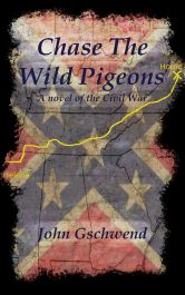 John Gschwend chase the wild pigeons historical fiction