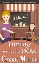 carrie marsh dining with the dead cozy mystery