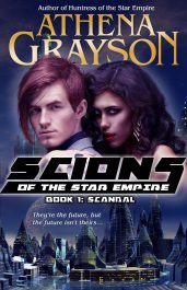 athena grayson scandal scions of the star empire