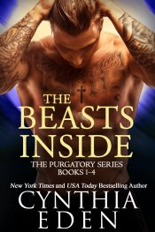 bargain ebooks The Beasts Inside Paranormal Romance by Cynthia Eden