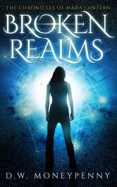 bargain ebooks Broken Realms Contemporary Fantasy by D.W. Moneypenny