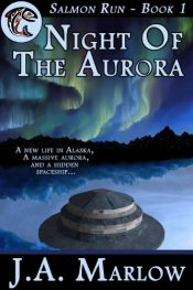 bargain ebooks Night of the Aurora YA SciFi by J.A. Marlow