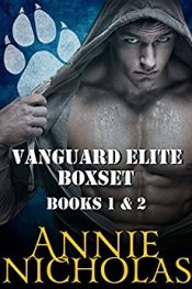 bargain ebooks Vanguard Elite Boxset Paranormal Romance by Annie Nicholas