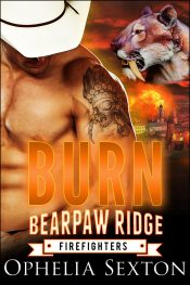 bargain ebooks Burn (Bearpaw Ridge Firefighters) Paranormal Romance by Ophelia Sexton