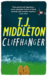 bargain ebooks Cliffhanger Humorous Mystery by T.J. Middleton