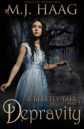 bargain ebooks Depravity: A Beauty and the Beast Novel Historical Fantasy by M.J. Haag