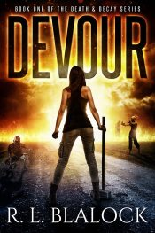 bargain ebooks Devour Action/Adventure Horror by R.L. Blalock