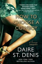 bargain ebooks How to Choose a Cowboy Erotic Romance by Daire St. Denis