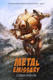 bargain ebooks Metal Emissary SciFi Military Adventure by Chris Paton