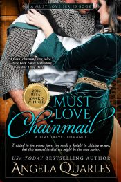 bargain ebooks Must Love Chainmail Historical Romance by Angela Quarles