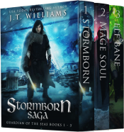 bargain ebooks Stormborn Saga (The Guardian of the Sea) Sword & Sorcery Fantasy by J.T. Williams