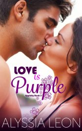 bargain ebooks Love is Purple Contemporary Romance by Alyssia Leon