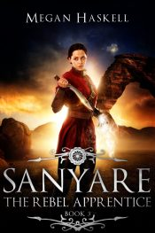 bargain ebooks Sanyare: The Rebel Apprentice Dark Fantasy Adventure by Megan Haskell