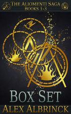 bargain ebooks The Aliomenti Saga Box Set SciFi Fantasy by Alex Albrinck