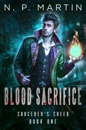 bargain ebooks Blood Sacrifice Urban Fantasy by N. P. Martin