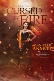 bargain ebooks Cursed by Fire SciFi Fantasy Horror by Danielle Annett